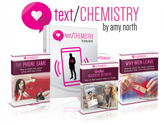Text Chemistry: Use Texts To Make Men Love You - By Amy North
